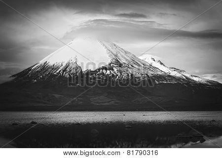 Parinacota Volcano in Northern Chile