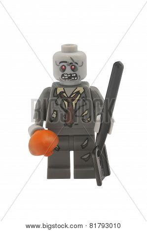 Zombie Lego Minifigure