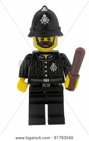 Constable Lego Minifigure