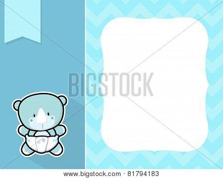 frame baby rhino