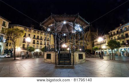 Solo Gazebo in Segovia, Spain.