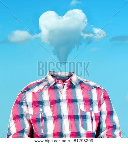 Heart Cloud Head