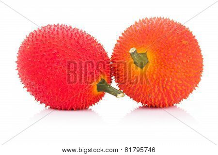 Baby Jackfruit On White Background