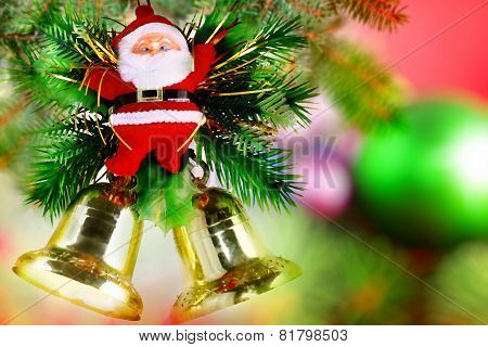 Christmas, New Year Decoration-santa Claus.