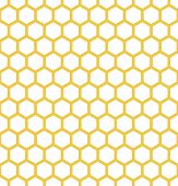 picture of honeycomb  - endless white and yellow background with bees honeycomb - JPG