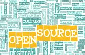 stock photo of open-source  - Open Source Technology Platform in a Community - JPG