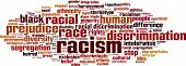 stock photo of racial discrimination  - Racism Word Cloud Concept - JPG