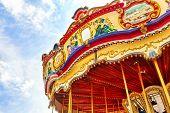 foto of carousel horse  - Carousel - JPG