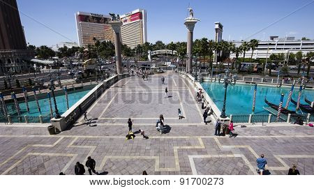 exteriors Of The Venetian Hotel, Las Vegas, Nevada