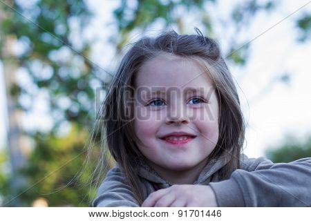 Cheerful Views Of The Child