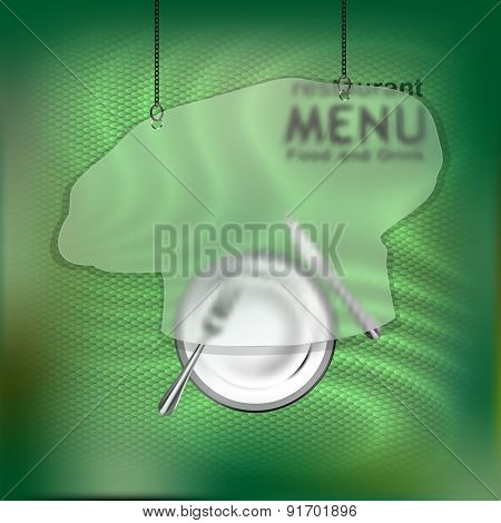 The Restaurant Menu Template With Frame