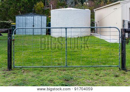 Single Galvanzed Farm Gate