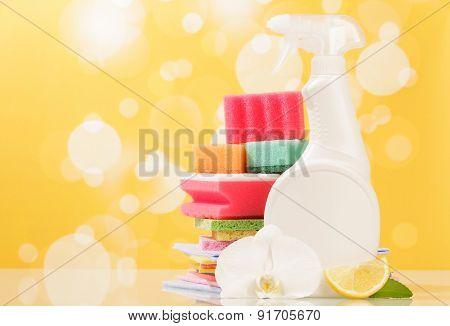 Hygiene cleanser in bottle