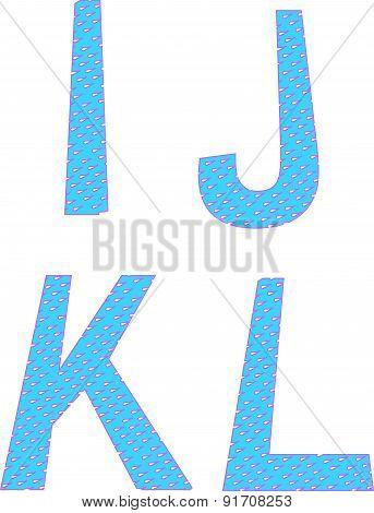A B C D Letters Symbols Alphabet