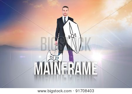 Corporate warrior against mainframe