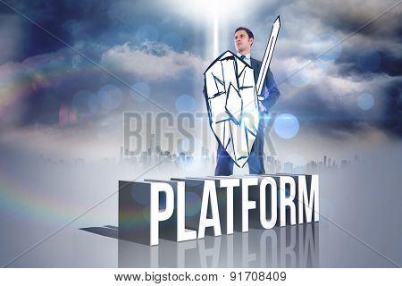 Corporate warrior against platform