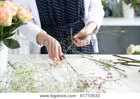 Little Details Are Very Important For The Art Of Composing Boquets