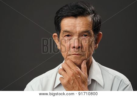 Vietnamese Senior Man