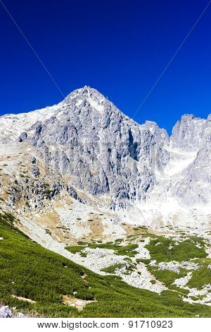 Lomnicky Peak and its surroundings, Vysoke Tatry (High Tatras), Slovakia