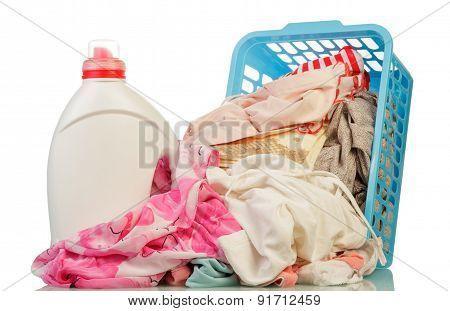 Clothes and washing powder