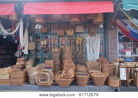 Baskets on the Street