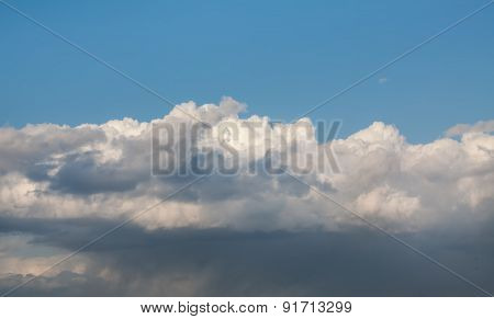 Beautiful White Clouds