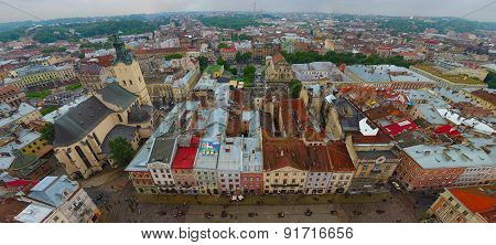 View Of The City Lviv