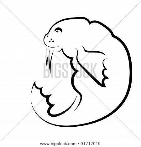 Walrus Symbol