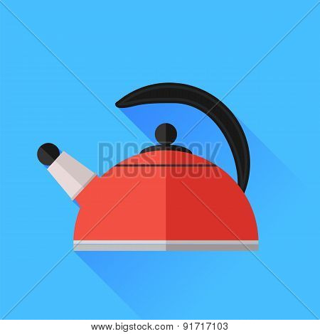 Red Kettle Icon