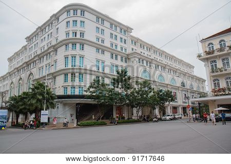 Ho Chi Minh City, Vietnam - 12 October 2014: Centre For Ho Chi Minh City To Union Square And The Con