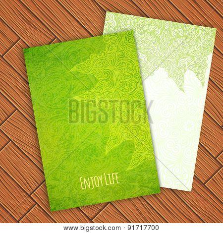 Card Template, Vector Illustration
