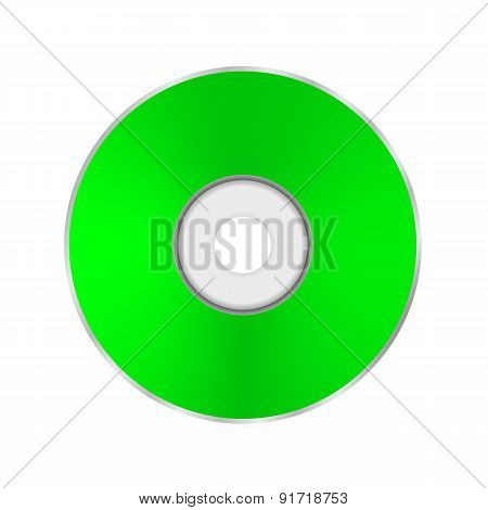 Green Compact Disc