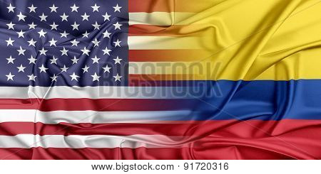 USA and Colombia