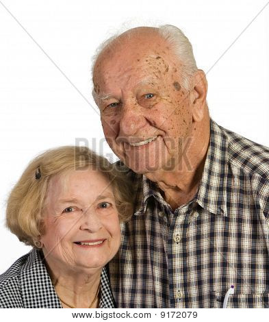 Old Husband And Wife