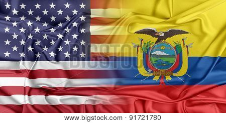 USA and Ecuador
