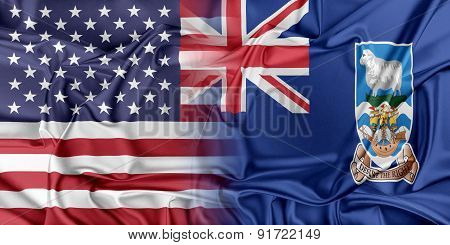 USA and Falkland Islands