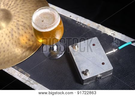 Beer And Music Equipment