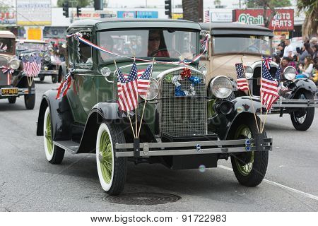 Antique Ford Vehicles