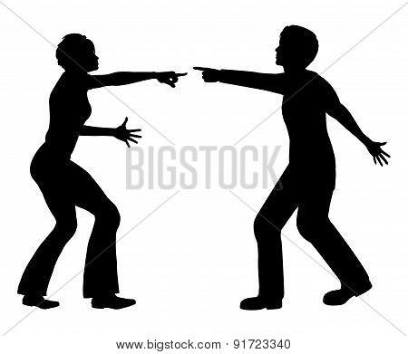 Marital Quarrel