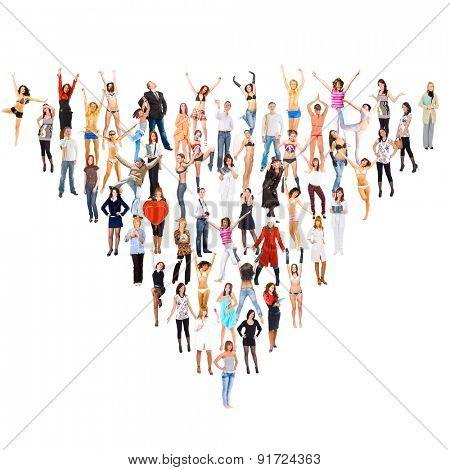 People Diversity Teamwork Achievement