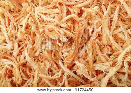 Shredded Fish Background