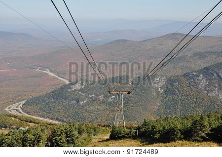 Cannon Mountain Aerial Tramway in New Hampshire