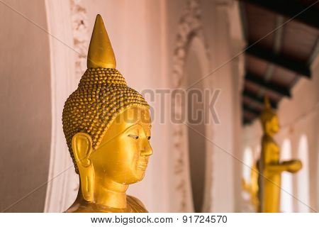 Buddha Statue At Wat Phra Pathom Chedi