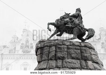 Bogdan Khmelnitsky monument.