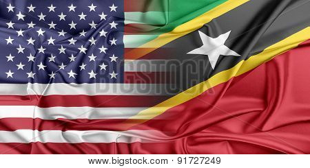 USA and Saint Kitts Nevis