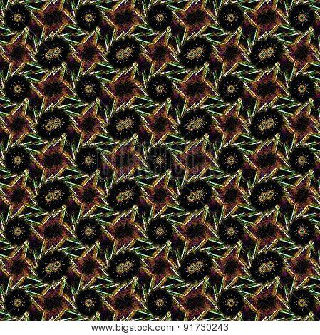Geometric Grunge Seamless Pattern