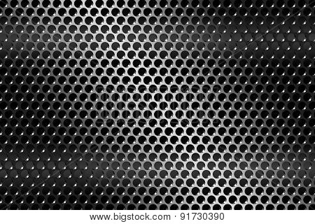 texture metal grill