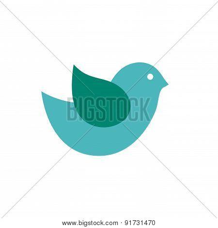 Bird design over white background vector illustration