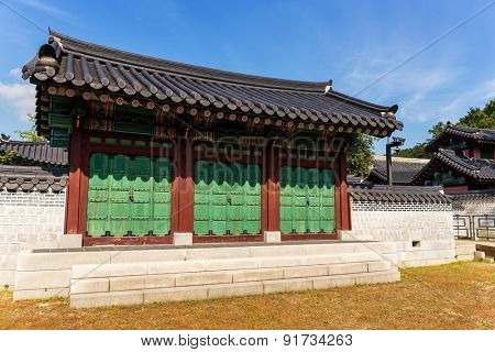 Traditional korean building