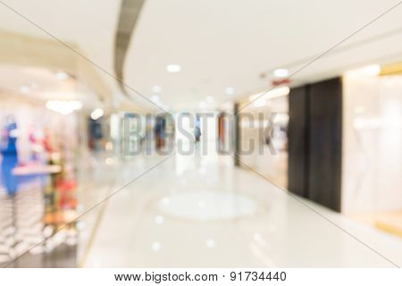 Unfocused background of Shopping store